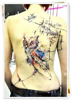 tatuagem de coruja 1