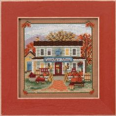 Mill Hill Cross Stitch Booklet Your Choice Flowers//Samplers//Halloween//Santas//US