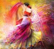 Spanish Art Art - Spain - Flamencoscape 12 by Miki De Goodaboom