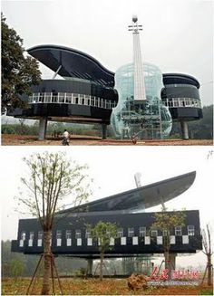 alll kinds of crazy houses on here