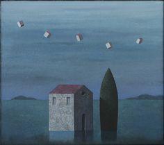 Matthias Brandes, Solitudine 2 #contemporary #art #painting