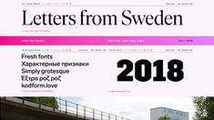 Eksell Display is a unique typeface from 1962, designed by the legendary swedish designer Olle Eksell (1918–2007).
