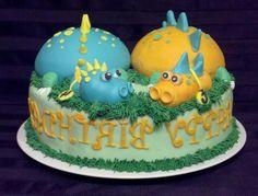 Cute Dinosaurs Cake For Birthday, dinosaur cakes ~ Cakelogs