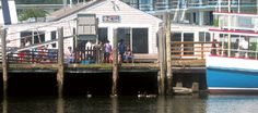 It's going to be so nice this week and no humidity - great weather to eat by the harbor at Spanky's.