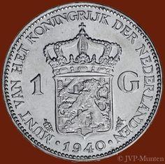 1-Gulden-1940-Mooie-kwaliteit