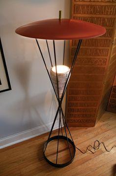 Mid-Century Floor Lamp | Flickr - Photo Sharing!
