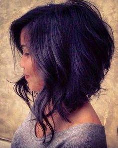 20 Short Hairstyles For Wavy Hair: #7. Chic Wavy Voluminous Bob Haircut