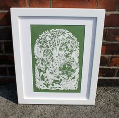 A walk in an english wood by Victoria on Etsy