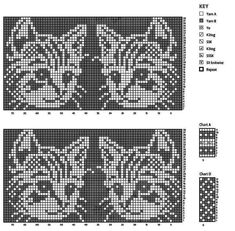 Cat Pattern Outline Gatos History of Knitting String rotating, weaving and sewing jobs such as BC. Knitted Doll Patterns, Fair Isle Knitting Patterns, Knitting Charts, Knitted Dolls, Knitting Stitches, Knitting Socks, Baby Knitting, Sewing Patterns, Free Knitting