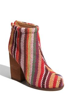 Um, you guys? I think I'm in love with these booties. I hope that's okay. #stripes #WANT #jeffreycampbell #circusvibes