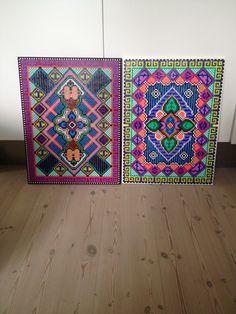Hama bead pictures by Christina Puggaard #christinapuggaard #hamabeads #DIY