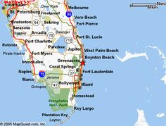 Delray Beach Vintage Map Print Pinterest Maps Retro And Lakes