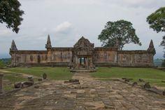 The disputed Preah Vihear Temple in Cambodia