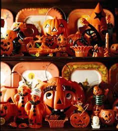 handcrafted vintage halloween decorations a collection of american hard plastic halloween memorabilia from the