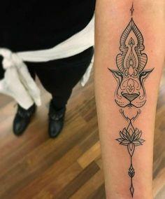 Foto Tatuagem Feminina 98 #AnimalTattoos #TattooIdeasUnique