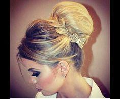 #Volume #bun #bridal #hairstyle #weddinghairstyles #bridalhair