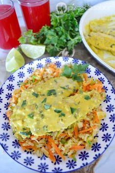 Pescado a la mostaza (sin horno) www.pizcadesabor.com