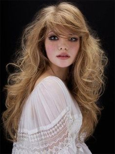 70s hairstyles with bangs