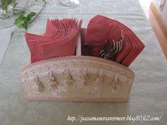 ペン・リモコンスタンド***「Chez Mimosa シェ ミモザ」   ~Tassel&Fringe&Soft furnishingのある暮らし~   フランスやイタリアのタッセル・フリンジ・ファブリック・小家具などのソフトファニッシングで、暮らしを彩りましょう     http://passamaneriavermeer.blog80.fc2.com/