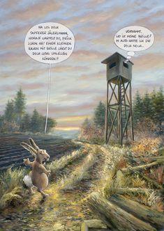 Jagd-MARUNDE | Cartoons & Illustrationen von Wolf-Rüdiger Marunde