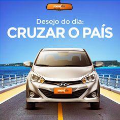Já pensou em conhecer o país viajando de carro?  Com a #MovidaRentACar, você vai do norte ao sul do Brasil com praticidade e conforto!