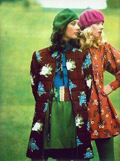Dorothee Bis Elle France 1971 Photo by Peter Knapp