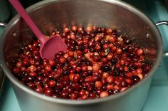 Cranberry preserves. I'm going to make it, but instead of sugar will use dates.