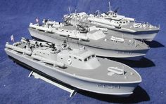 Model Boat Mayhem US PT Boats are the Revell kits MTB and Elco PT 117 ,and a much modified Elco kit representing the Elco PT 30 with Scott-Paine's unique hull design. Mchale's Navy, E Boat, Electric Boat, Cabin Cruiser, Old Boats, Naval History, Military Modelling, Military Diorama, Navy Ships
