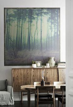 Color verde, Couleur verte, Green color Fotografía del bosque de Dan Isaac Wallin