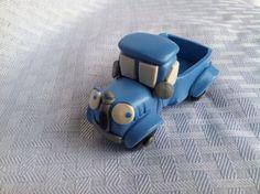 Little Blue Truck cake topper decoration keepsake figurine without animals on Etsy, $20.00