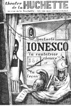 Deconstructing Language and Meaning with Eugène Ionesco Eugene Ionesco, Michel, Laughter, Meant To Be, Literature, Books, Language, Musical Theatre, Humor