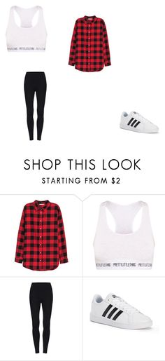 """""""casual"""" by ikatsamaki on Polyvore featuring H&M and adidas"""