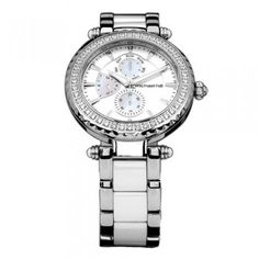 Now $399 (Was $699) on Ladies Watch with Mother of Pearl & cubic Zirconias…