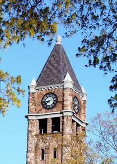 Hackley Administration Building Clock Tower, muskegon, Michigan