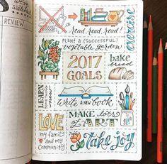 10 ideias para bullet journal que vão salvar o seu 2017