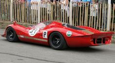 1968-1969 Ford P68/P69 is a Sports Prototype Racing Car Introduced by Ford – Powered by: Ford-Cosworth DFV, 182.6 ci Engine – in the 8 Races Entered, There were 3 DNS and 5 DNF