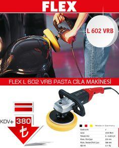 FLEX profesyonel pasta cila makinası olan L 602 VRB kısa bir süre için en düşük fiyata. Otomobil kaporta polisaj işlerinde ideal polisaj makinası. http://www.ozkardeslermakina.com/urun/pasta-cila-makinasi-flex-l602vrb/ #flex #polisaj #pasta_cila #pasta_cila_makinası #kaporta #modifiye #otomobil #araba #oto_sanayi