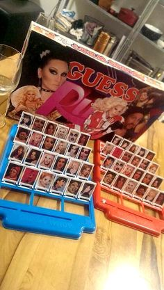 RuPauls Drag Race guess who? Guess Ru game night