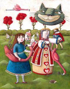 Martina Peluso   ILLUSTRATION | Alice in Wonderland