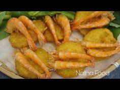 (221) Cách làm bánh tôm không dùng khuôn, bánh giòn lâu 2 tiếng, không ngấm dầu || Natha Food - YouTube