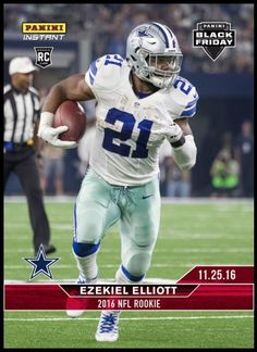 171b088da7e 2016 Panini Instant NFL BLACK FRIDAY SET #2 Ezekiel Elliott Cowboys RC SP #  /