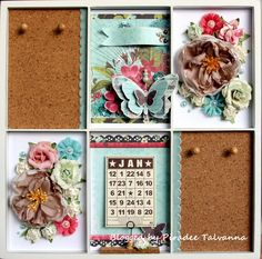 add corkboard in printer trays