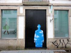 Porto, Portugal. 25 portas com intervenções artísticas