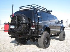 So want to trick out the Excursion like this | See more about Ford Excursion, Ford and Trucks.