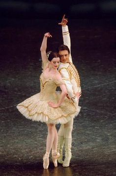 Aurelie Dupont and Manuel Legris in Paquita