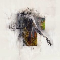 Powerful Mixed Media Portraits of Faceless Figures by artist Justin Harris - My Modern Metropolis Figure Painting, Painting & Drawing, Justin Harris, Kunst Online, A Level Art, Life Drawing, Contemporary Paintings, Figurative Art, Painting Inspiration