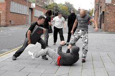 Self-defense tips and techniques. Muay Thai for self-defense Self Defense Tips, Self Defense Techniques, Israeli Krav Maga, Learn Krav Maga, Instant Karma, Street Fights, Kickboxing, Muay Thai, Training Tips