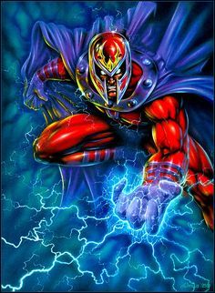 Dimitri Patelis - Magneto  Auction your comics on http://www.comicbazaar.co.uk