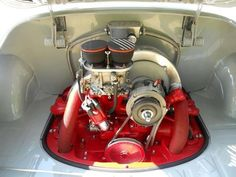Clean VW engine