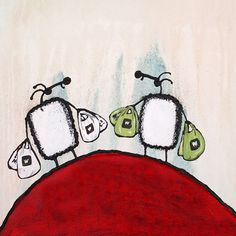 """""""Woolies"""" by Ann Gadd Afrikaans, Kitchen Art, South Africa, Sheep, Whimsical, Ann, Paintings, My Favorite Things, Cool Stuff"""